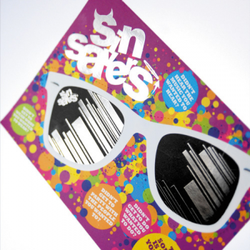 Spot Gloss Lam Shaped Flyers - 250gsm