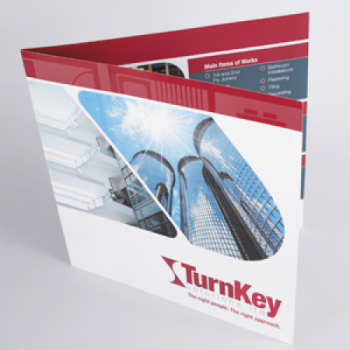 Gloss Laminated Shaped Flyers - 250gsm