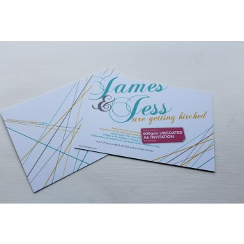 Uncoated Flyers - 600gsm