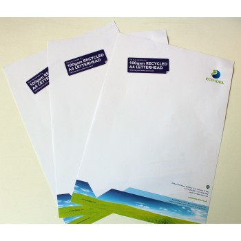 100gsm Recycled Letterheads