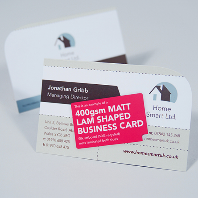Shaped business cards reheart Images