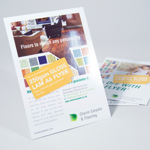 Gloss Laminated Flyers - 250gsm