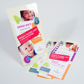 Gloss Laminated Flyers - 400gsm