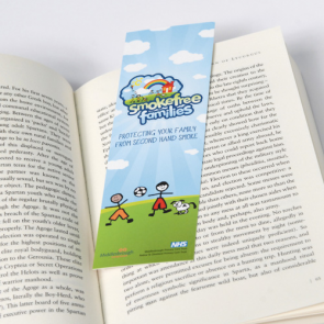 400gsm Matt Lam Bookmark