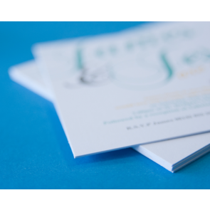 600gsm Uncoated Invitations