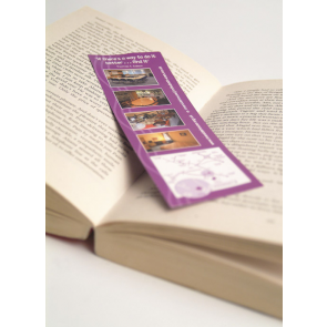 400gsm Silk Bookmark