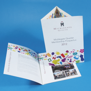 Gloss Folded Leaflets - 130gsm