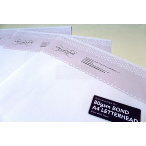 80gsm Bond Compliment Slips