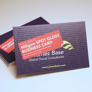 Spot Gloss Business Cards