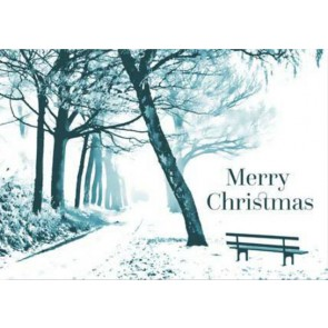 Christmas Card - Walking in Woodland