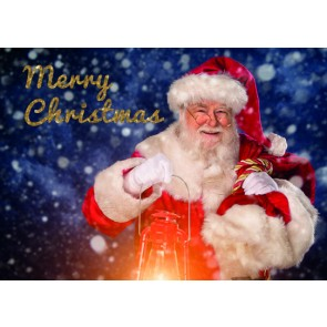Christmas Card - Smiling Santa