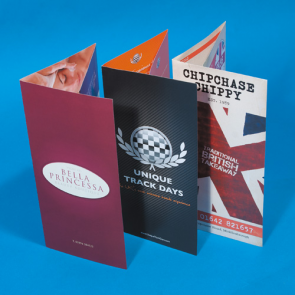 Folded Flyers - 280gsm
