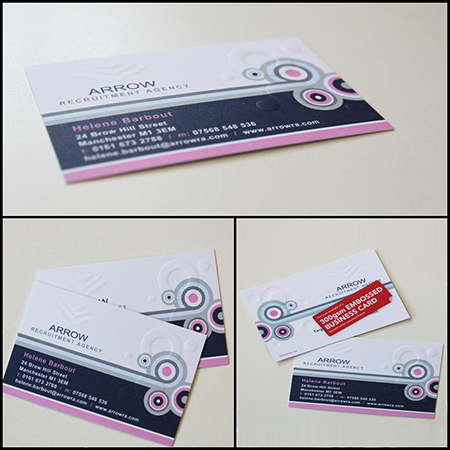 Embossed Cards